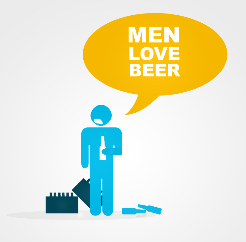 Men Love Beer by PaulNLD