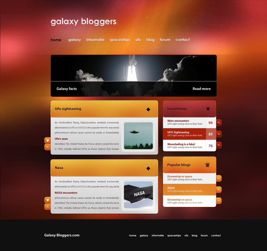 GalaxyBloggers by PaulNLD