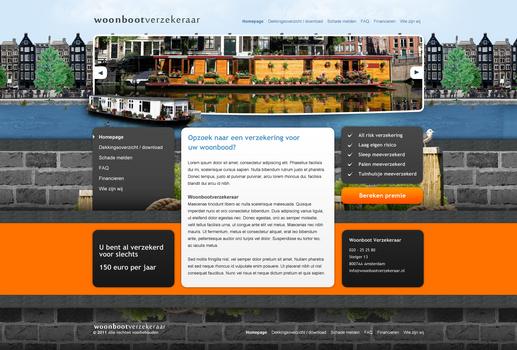 Insurance webdesign
