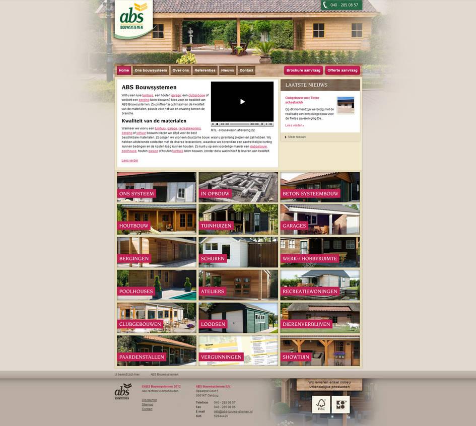 Gardenhome Builder - Webdesign