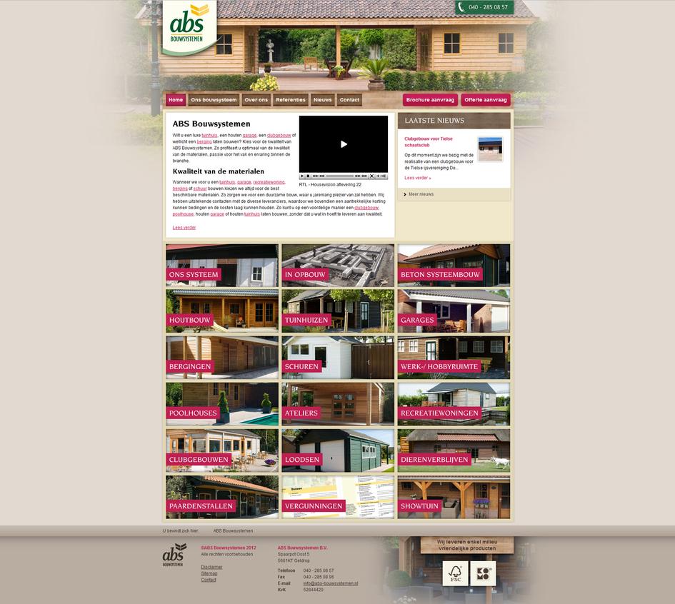 gardenhome builder webdesign by paulnld on deviantart. Black Bedroom Furniture Sets. Home Design Ideas