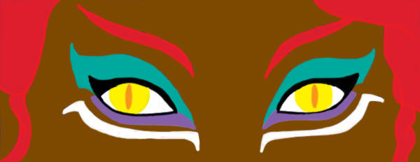 Sphinx Eyes With Makeup