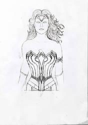 [Sketch] Wonder Woman