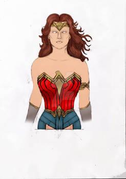 [Sketch] Wonder Woman Color Version