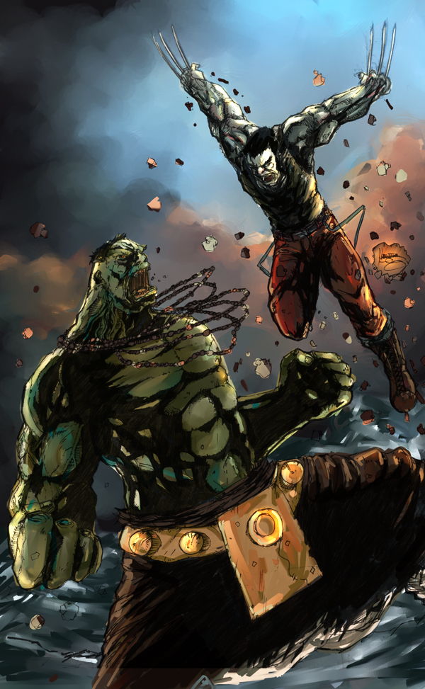 ultimate hulk vs wolverine