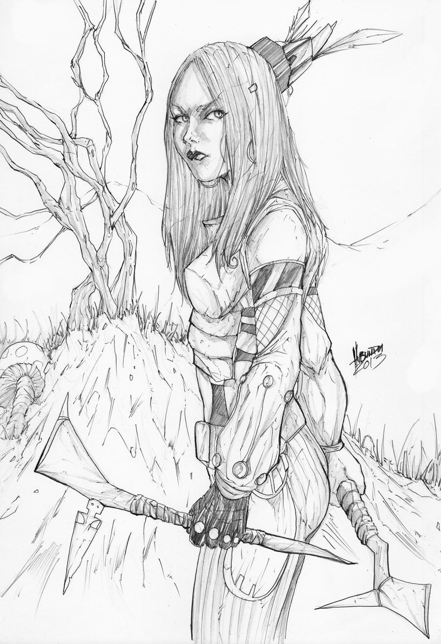 Tiger Lily pencils by soulspline on DeviantArt