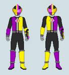 Kesshou Sentai Hojugers- HojuYugo (Ametrine)