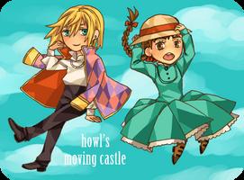 Howl's Moving Castle Chibis