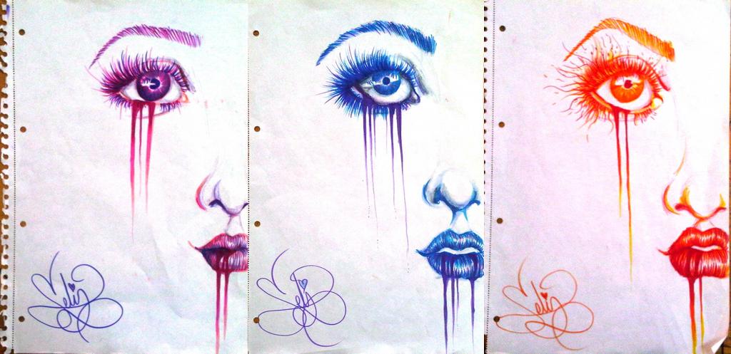 Dripping Paint by demenian