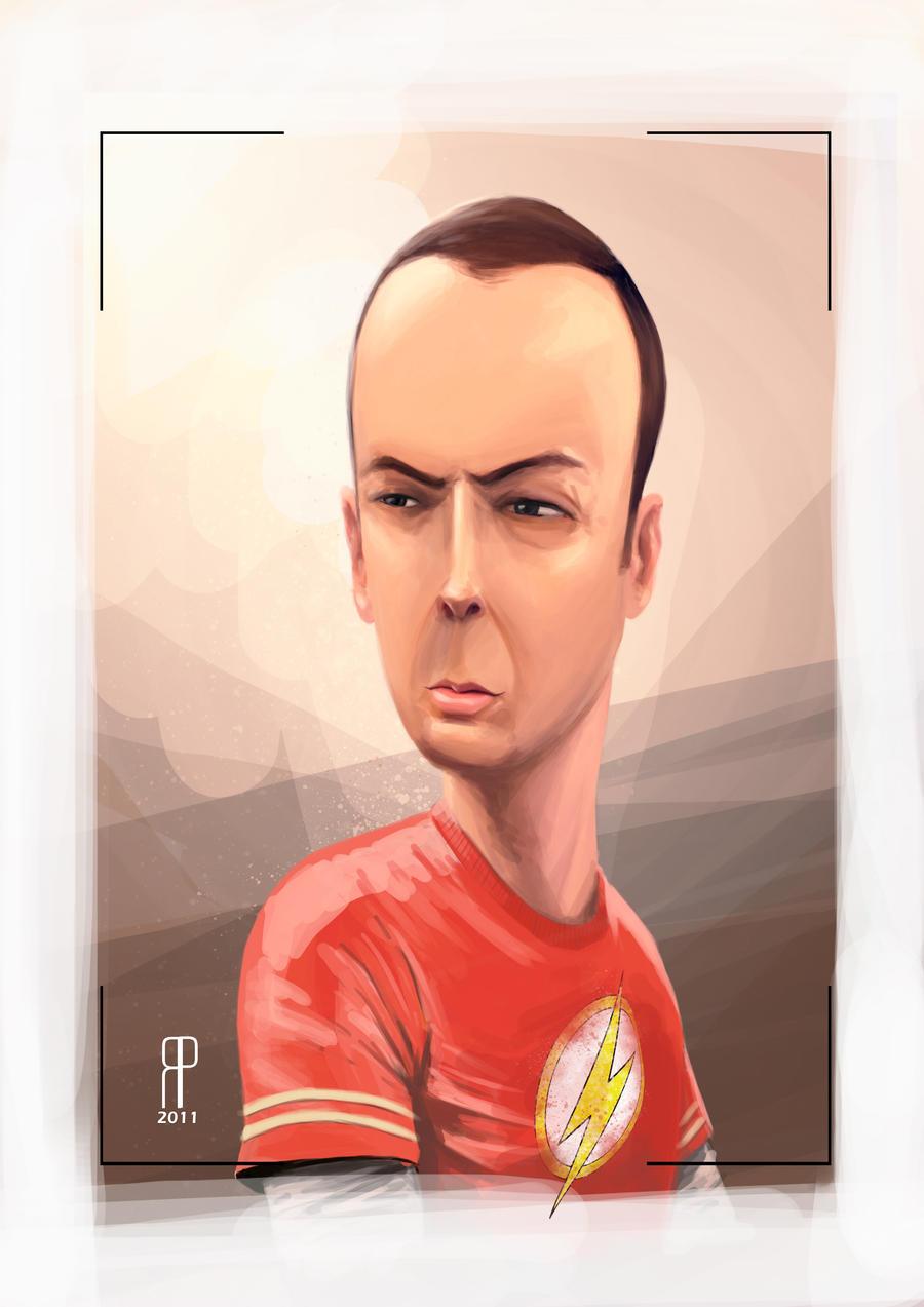 Sheldon by rafael-pires