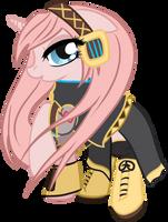 Megurine Luka Pony by 3u4ia
