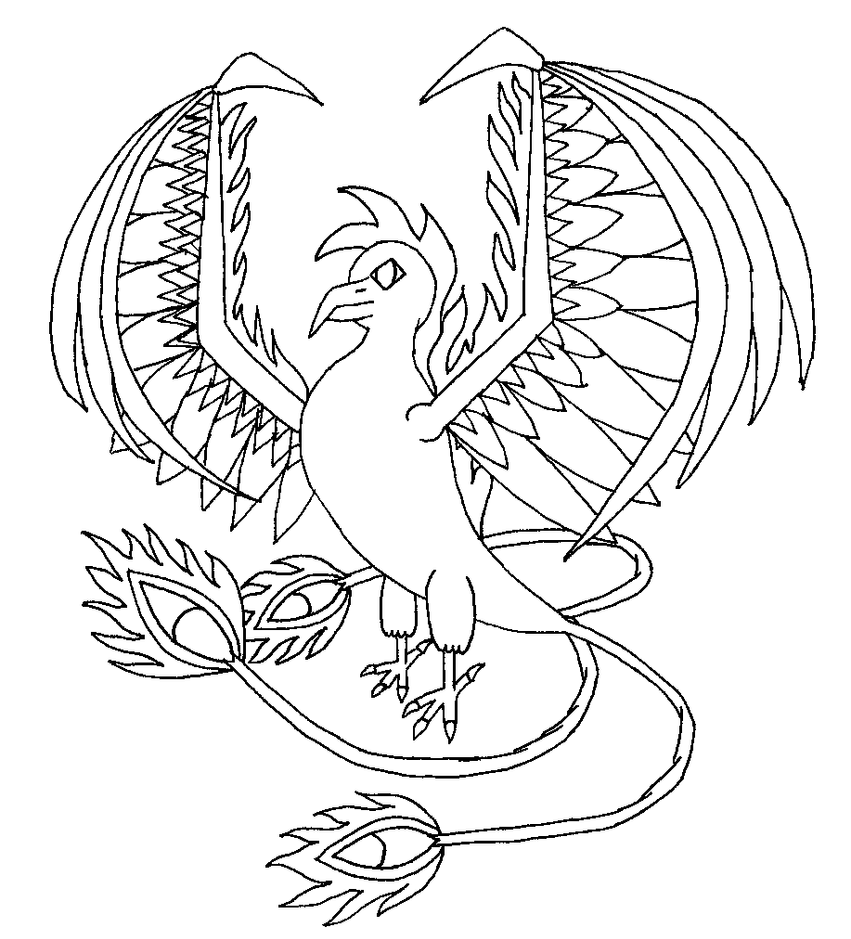 magical creature coloring pages - photo#36