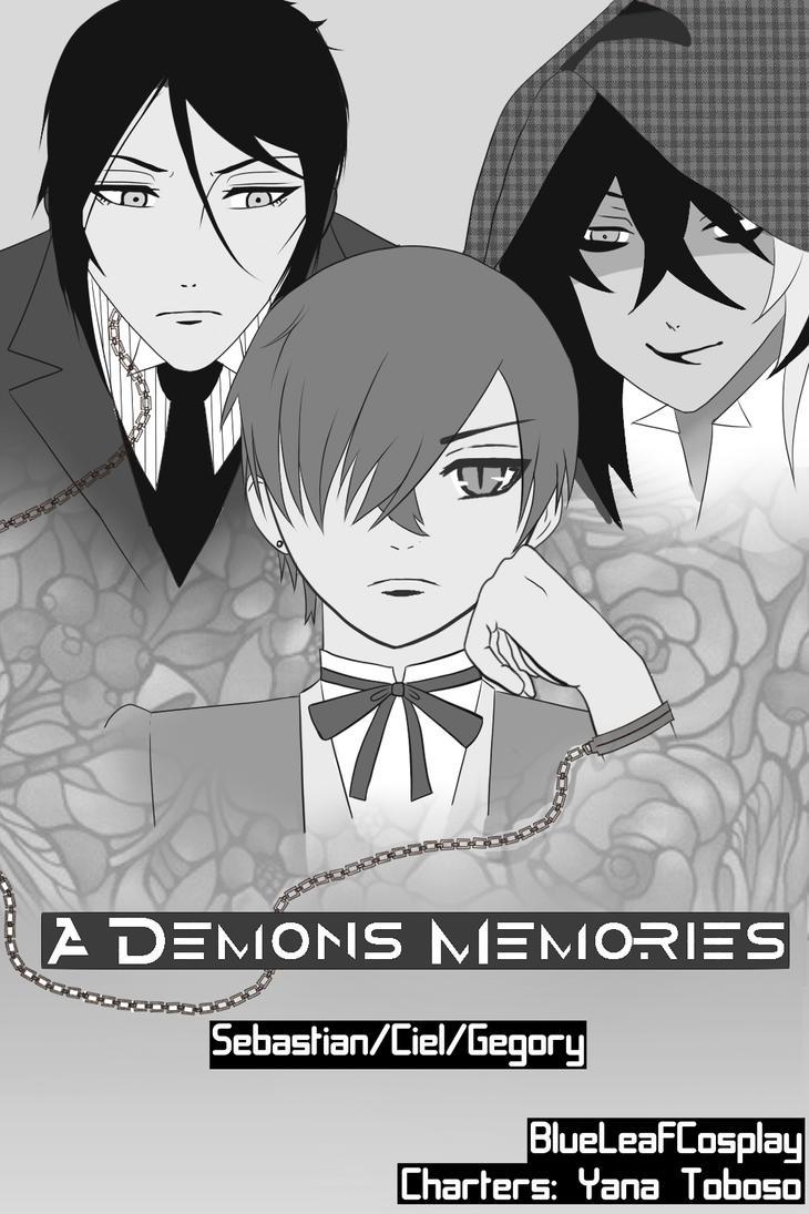Title Page A Demons Memories (Kuroshitsuji Doujin) by AloHeartRocks-Lexy