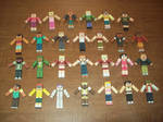 Total Drama MC Papercrafts 2nd and 3rd Gen