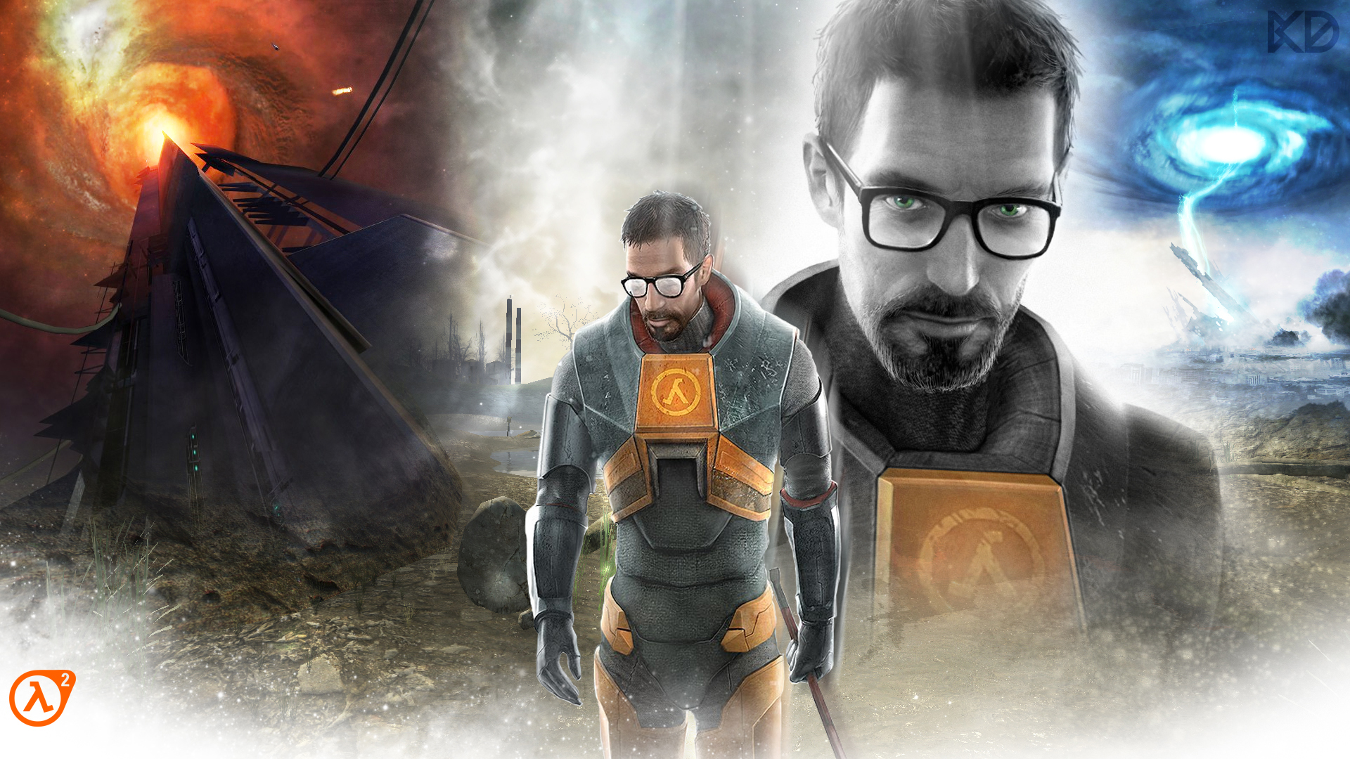 Half Life 2 Gordon Freeman Wallpaper For Zenclare By Kalsypher On