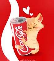12 - I love coca cola by kty159