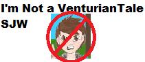 I'm Not a VenturianTale SJW Stamp by Kirbymasters87