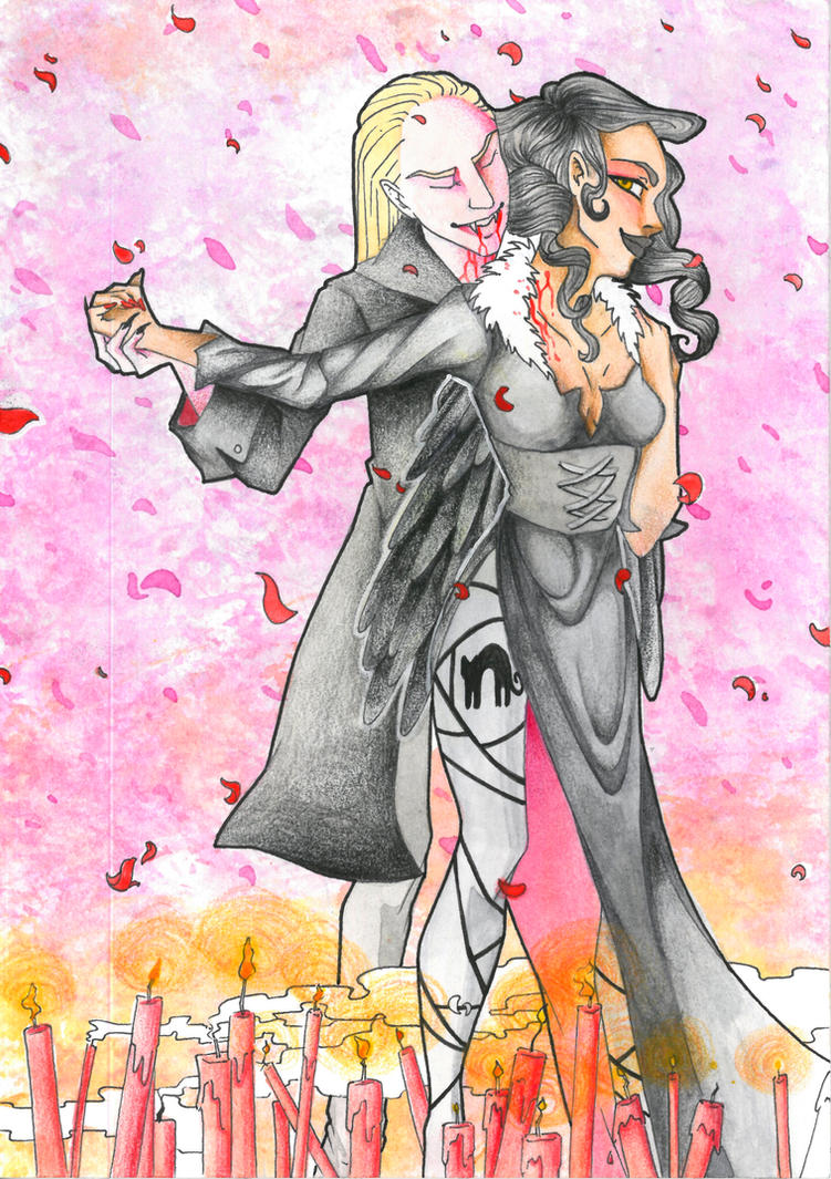 Le Bal d'Halloween by Jadestanzie