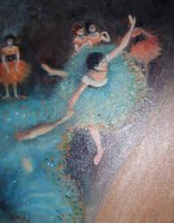 Degas Dancers by cheryblosom