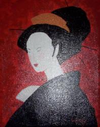 Geisha by cheryblosom