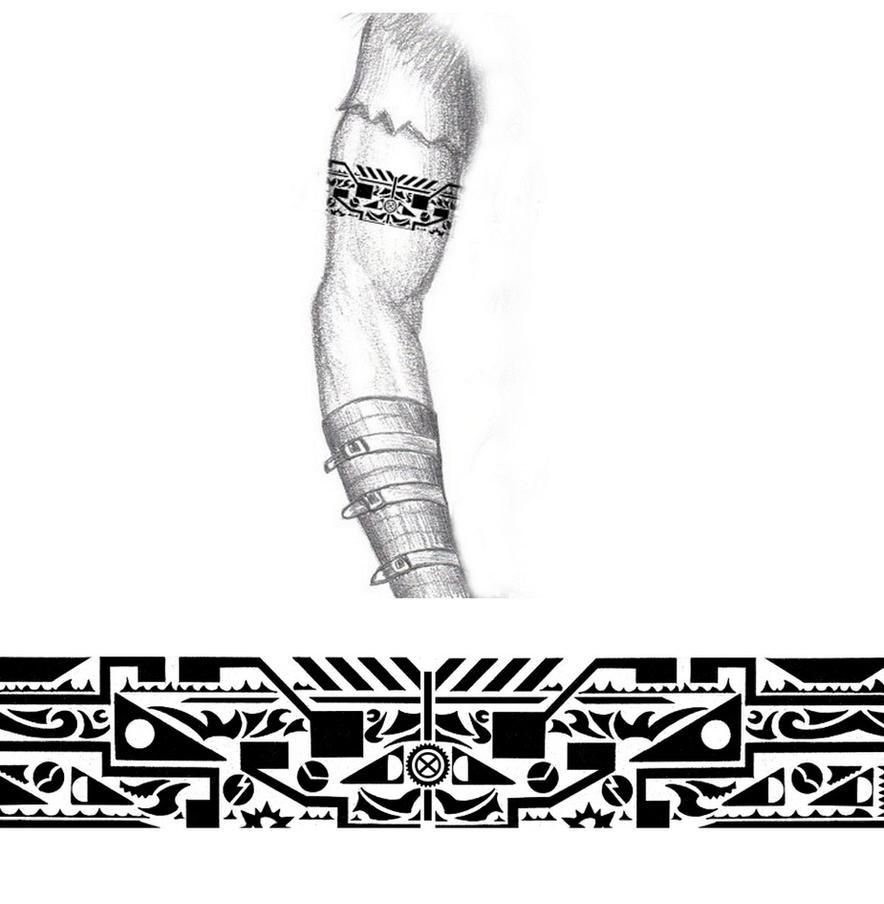 tribal tribal tattoos leg leg tribal tattoos polynesian tribal leg ...