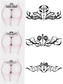 Labrys tribal tattoo