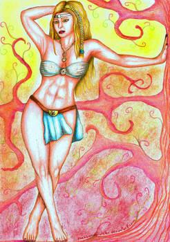 Goddess Hlin