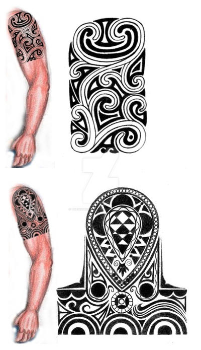 Tribal Shoulder Arm Tattoo Design By Thehoundofulster On Deviantart