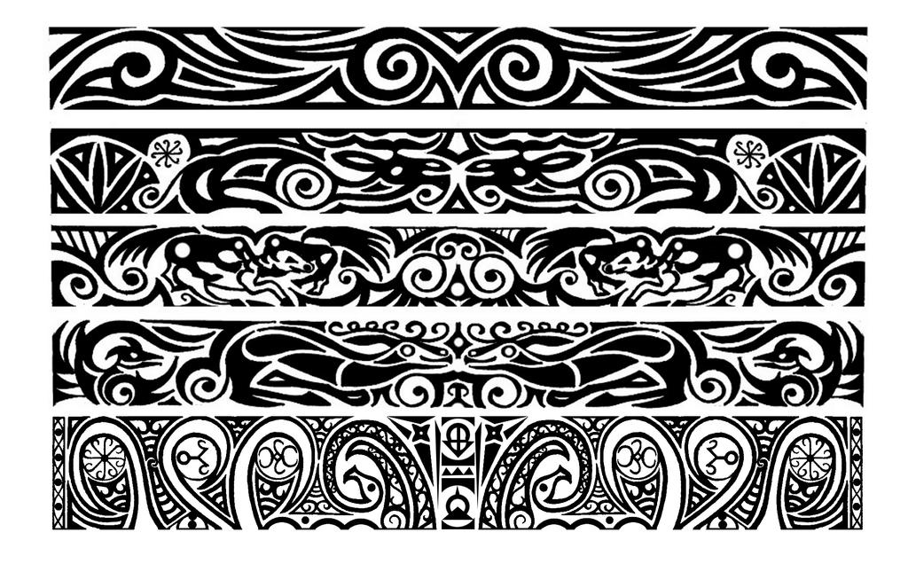 scythian inspired armbend tribal tattoos by thehoundofulster on deviantart. Black Bedroom Furniture Sets. Home Design Ideas