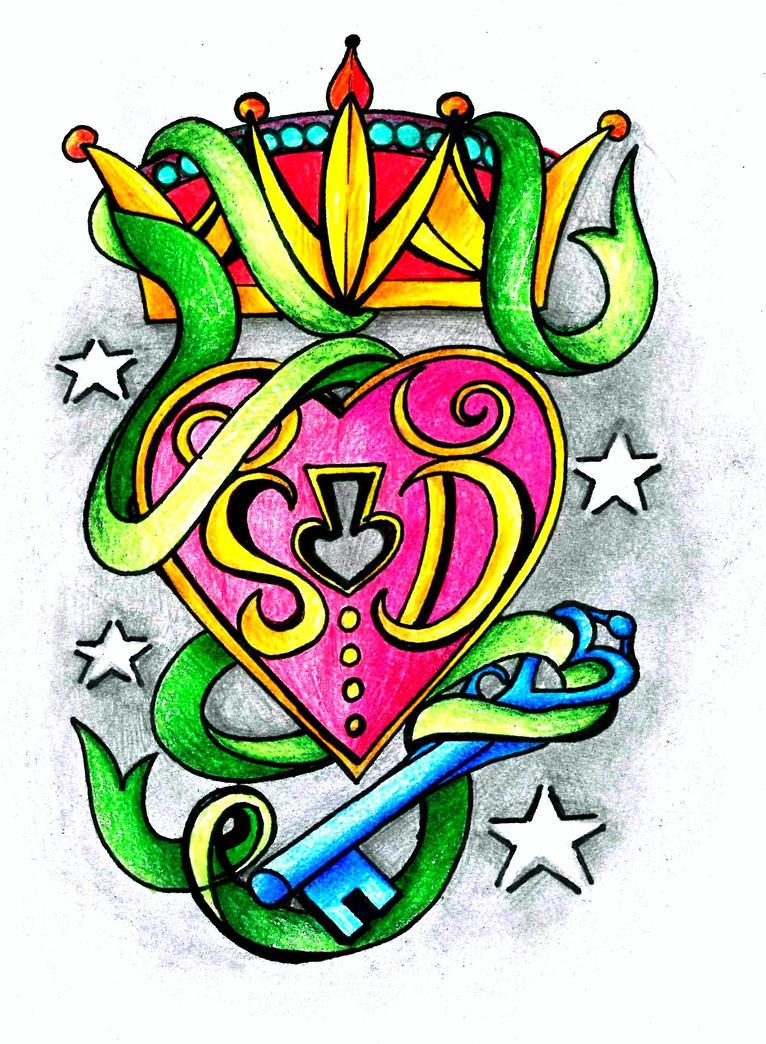 Wedding anniversary tattoo idea by thehoundofulster