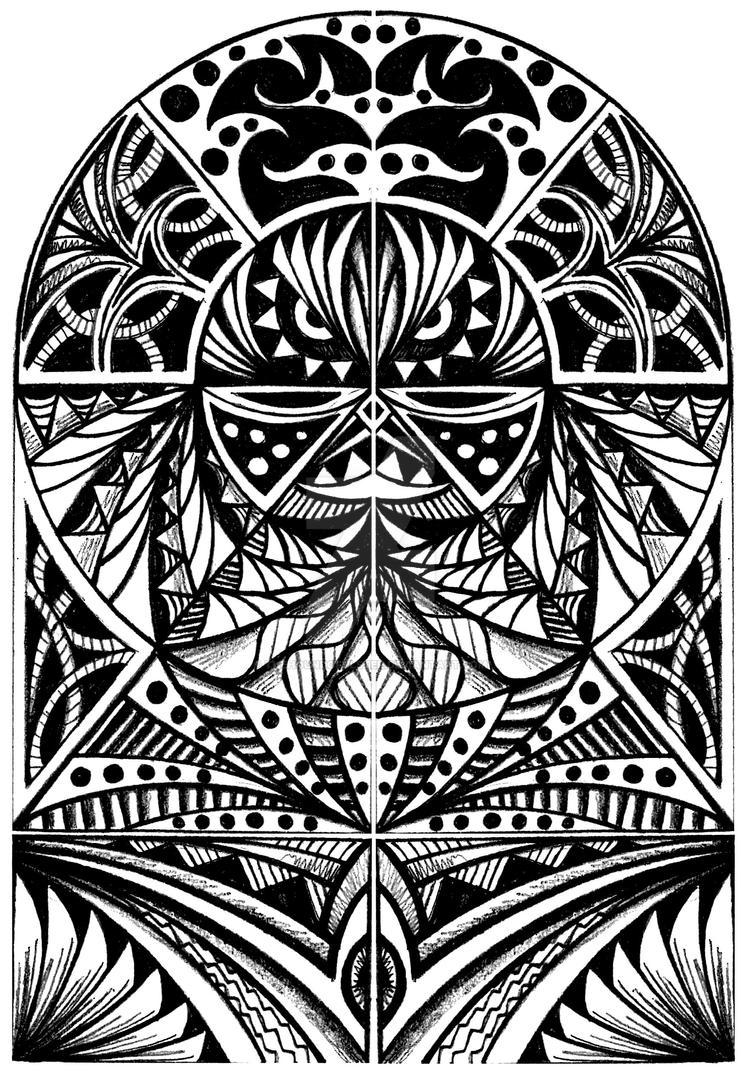 Tribal half sleeve by thehoundofulster