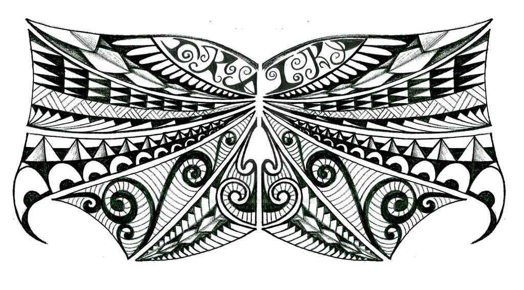 tribal polynesian chest tattoo design by thehoundofulster on deviantart. Black Bedroom Furniture Sets. Home Design Ideas