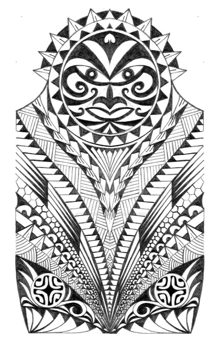 samoan warrior half sleeve tattoo by thehoundofulster on deviantart. Black Bedroom Furniture Sets. Home Design Ideas