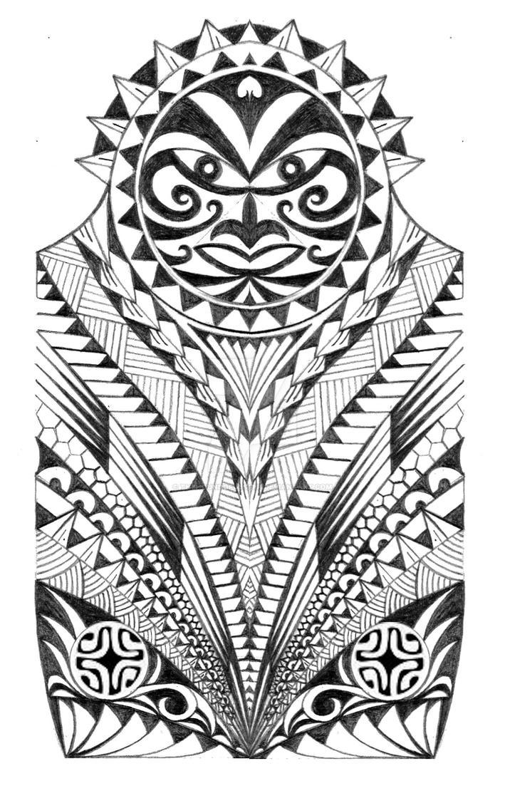 c97ed3bef Samoan Warrior Half Sleeve Tattoo by thehoundofulster on DeviantArt