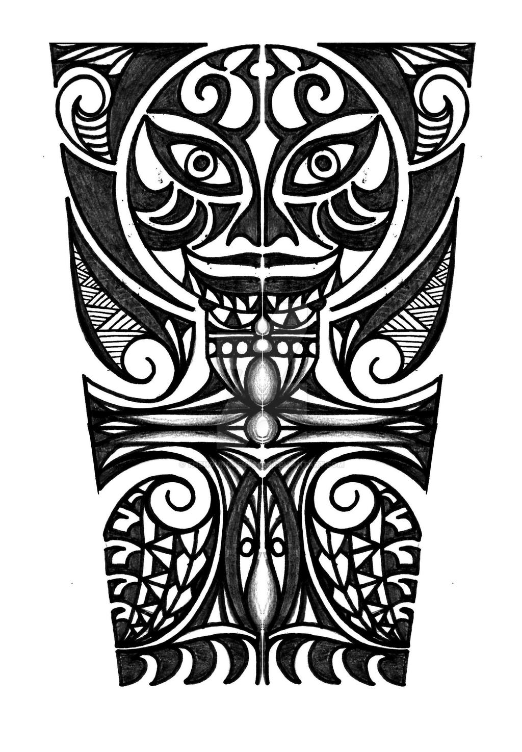 polynesian with cross forearm tattoo design by thehoundofulster on deviantart. Black Bedroom Furniture Sets. Home Design Ideas