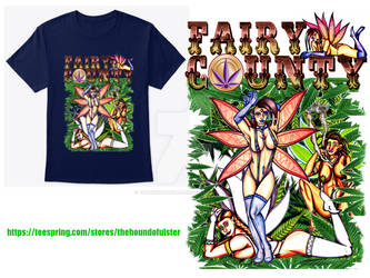 FAIRY COUNTY t-shirt