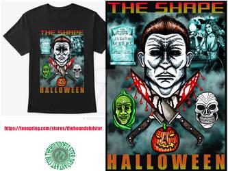 THE SHAPE Halloween t-shirt