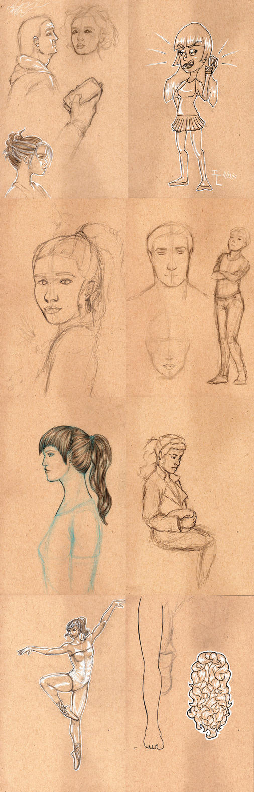 Sketch Dump 3 by GosterMonster
