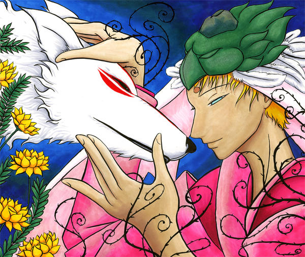 Sauvons Angel's Sky ! (2ème partie) Amaterasu_and_Waka_2_by_Tanithkitty
