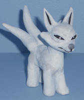 Lil Kitsune 3-tailed by Tanithkitty