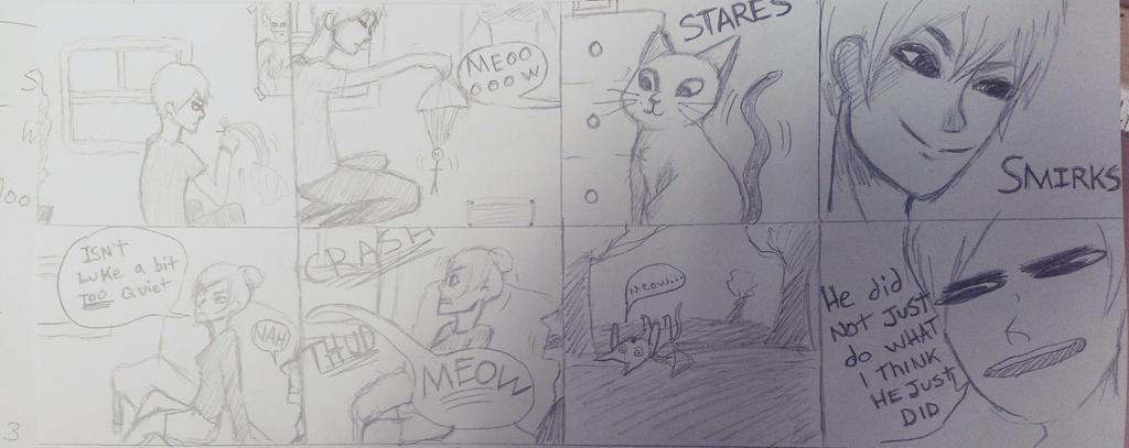 dump little comic by Yuilebish