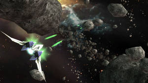 Star Fox: Heading into the asteroids
