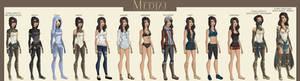 DC:: Medjai II Outfits
