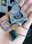 Miniature Playstation