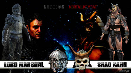 Lord Marshal x Shao Kahn by bigaace