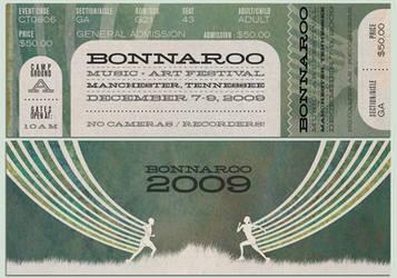 Bonnaroo 2009 Ticket