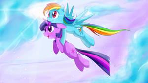 Twidash Flight Scene of Friendship