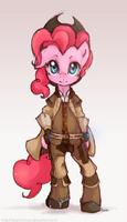 Smuggler Pinkie by derpiihooves