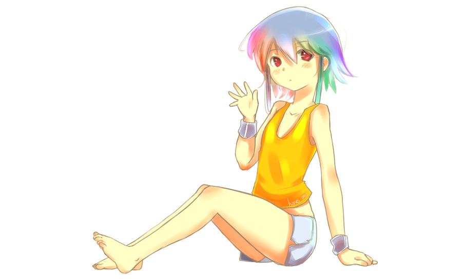 Rainbow Loli by derpiihooves