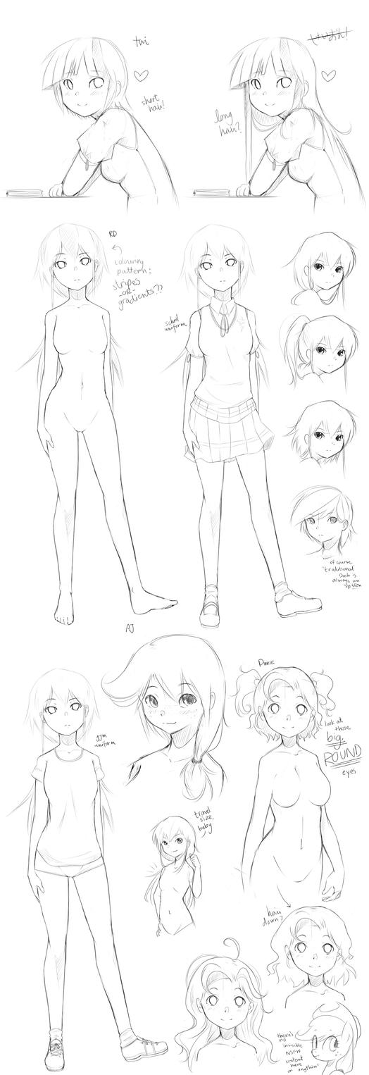Starswirl Academy sketches 01 by derpiihooves